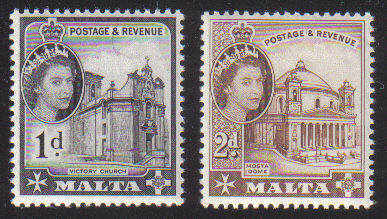Malta Stamps SG 0314-15 1963 - MINT