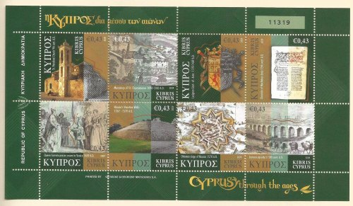 Cyprus Stamps SG 1198-1205 2009 Cyprus Through the Ages Part 3 - MINT