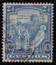 Cyprus Stamps SG 126 1928 Two and a half Piastres - USED (c919)