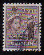 Cyprus Stamps SG 188 1960 Definitives 2 Mils - Used (c924)