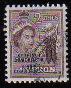 Cyprus Stamps SG 188 1960 Definitives 2 Mils - Used (c925)