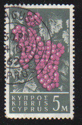 Cyprus Stamps SG 212 1962 Definitive Views 5 Mils - USED (c954)