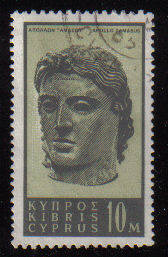 Cyprus Stamps SG 213 1962 Definitive Views 10 Mils - USED (c956)