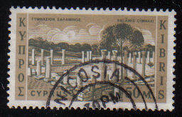Cyprus Stamps SG 219 1962 Definitive Views 50 Mils - USED (c968)