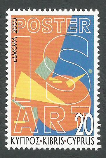 Cyprus Stamps SG 1051 2003 20c - MINT