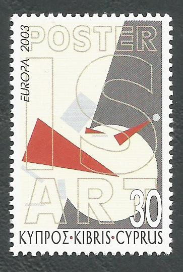 Cyprus Stamps SG 1052 2003 30c - MINT