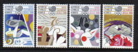 Cyprus Stamps SG 722-25 1988 Seoul Olympic games  - MINT