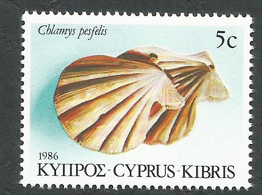 Cyprus Stamps SG 680 1986 5c - MINT
