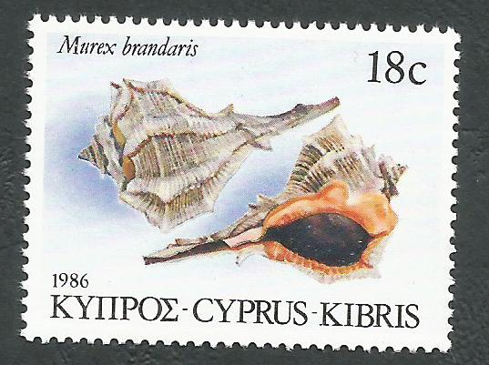 Cyprus Stamps SG 682 1986 18c - MINT