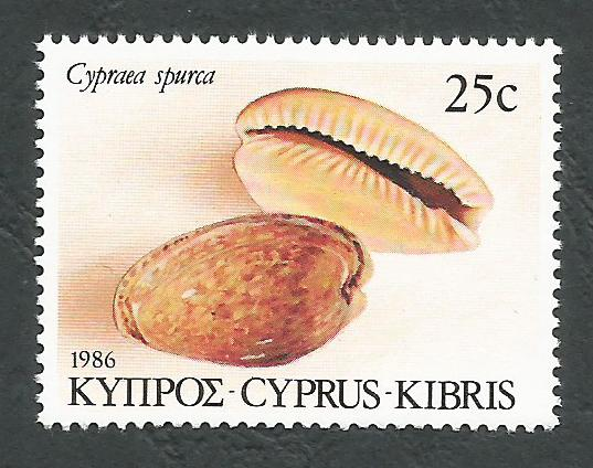 Cyprus Stamps SG 683 1986 25c - MINT