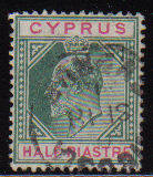 Cyprus Stamps SG 062 1904 Half Piastre - USED (d097)