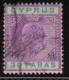 Cyprus Stamps SG 063 1904 30 Paras - USED (d092)