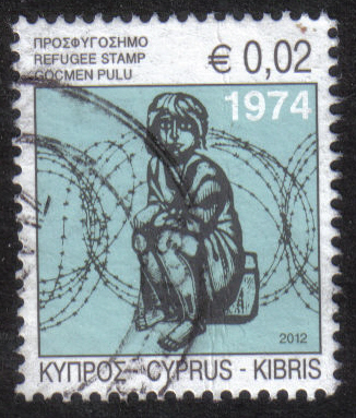 Cyprus Stamps 2012 Refugee Fund Tax SG 1265 - USED (h458)