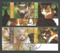 Cyprus Stamps SG 1025-28 2002 Cats - CTO USED (k390)
