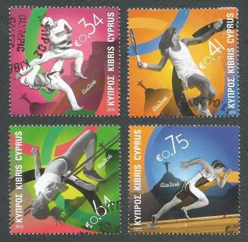 Cyprus Stamps SG 2016 (b) Rio Brazil Olympic Games - USED (k402)