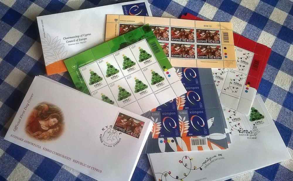 Cyprus stamps - 17 November 2016 issues