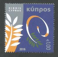 Cyprus Stamps SG 1408 2016 The Cyprus Chairmanship of the Council of Europe - MINT