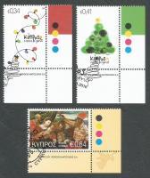 Cyprus Stamps SG 2016 (i) Christmas - CTO USED (k405)