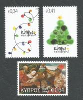 Cyprus Stamps SG 1405-07 2016 Christmas - MINT