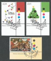 Cyprus Stamps SG 1405-07 2016 Christmas - CTO USED (k403)