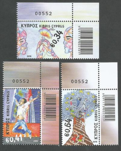Cyprus Stamps SG 2016 (d) Principles and Values Of The European Union - Con