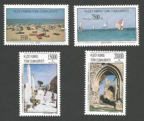 North Cyprus Stamps SG 404-07 1995 Tourism - MINT