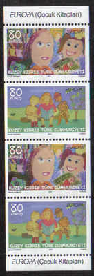 North Cyprus Stamps SG 0702-03 2010 Europa childrens books - MINT