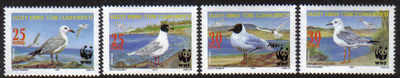 North Cyprus Stamps SG 0704-07 2010 World Environment Day Birds - MINT