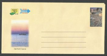 North Cyprus Stamps Pre-paid Airmail Type 3  - MINT (k429)