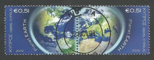 Cyprus Stamps SG 1186-87 2009 Planet Earth - CTO USED (k464)