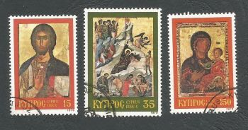 Cyprus Stamps SG 533-35 1979 Christmas - USED (k499)