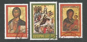 Cyprus Stamps SG 533-35 1979 Christmas - USED (k500)