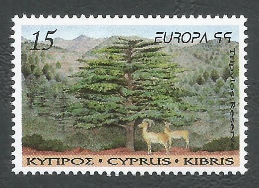 Cyprus Stamps SG 969 1999 15c - MINT