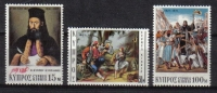 Cyprus stamps SG 375-77 1971 Greek war - MINT