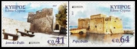 Cyprus stamps EUROPA 2017