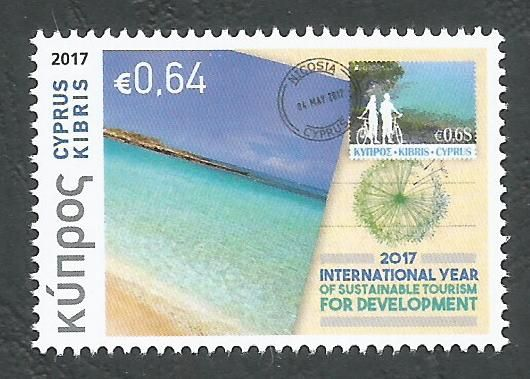 Cyprus Stamps SG 2017 (e) Philately and Tourism - MINT