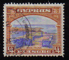 Cyprus Stamps SG 133 1934 1/4 Piastre - USED (c545)