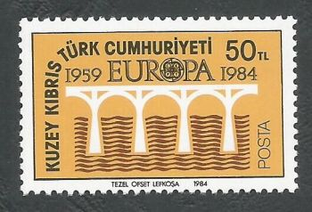 North Cyprus Stamps SG 148 1984 50TL - MINT