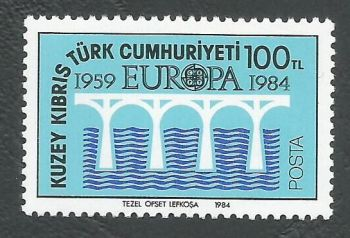 North Cyprus Stamps SG 149 1984 100TL - MINT