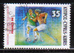 Cyprus Stamps SG 938 1998 Football France World Cup - USED (d135)