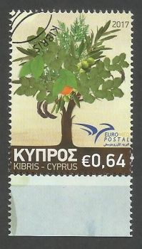Cyprus Stamps SG 2017 (f) Euromed Trees of the Mediterranean - CTO USED (k518)