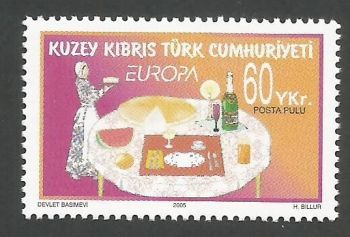 North Cyprus Stamps SG 0608 2005 60 YKr - MINT