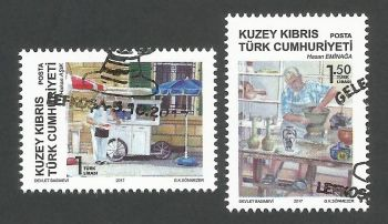 North Cyprus Stamps SG 2017 (e) The Masters of Tradition - CTO USED (k543)