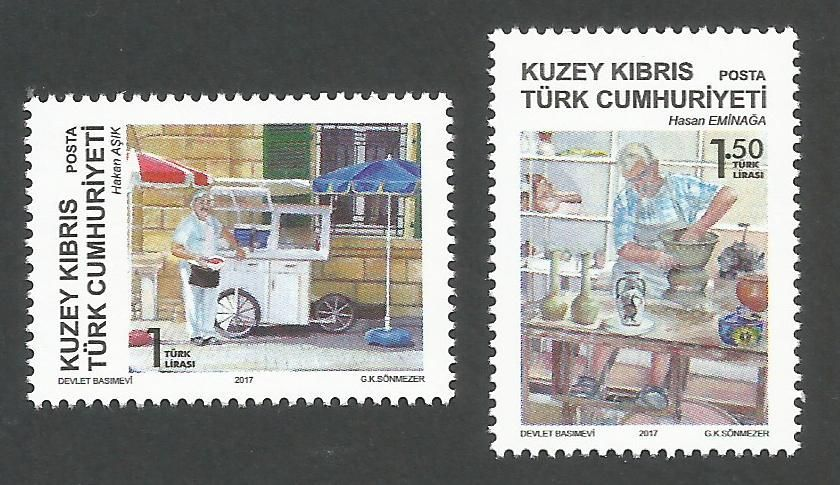 North Cyprus Stamps - The Masters of Tradition 2017