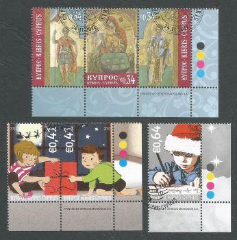 Cyprus Stamps SG 2017 (g) Christmas - CTO USED (k596)