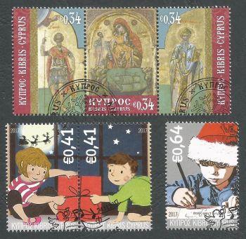 Cyprus Stamps SG 2017 (g) Christmas - CTO USED (k594)