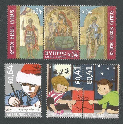 Cyprus Stamps Christmas 2017