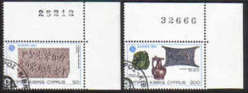 Cyprus Stamps SG 602-03 1983 Europa - USED (d296)