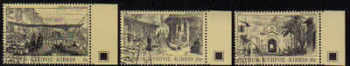 Cyprus Stamps SG 628-30 1984 Old engravings - USED (d268)