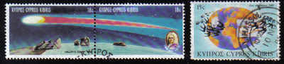 Cyprus Stamps SG 686-88 1986 Anniversaries & Events - USED (d240)